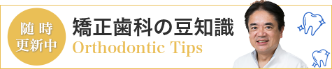 矯正歯科の豆知識
